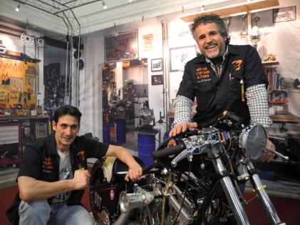 Harley Davidson Fachwerkstatt und Fahrradverleih in Hamburg Altona St. Pauli